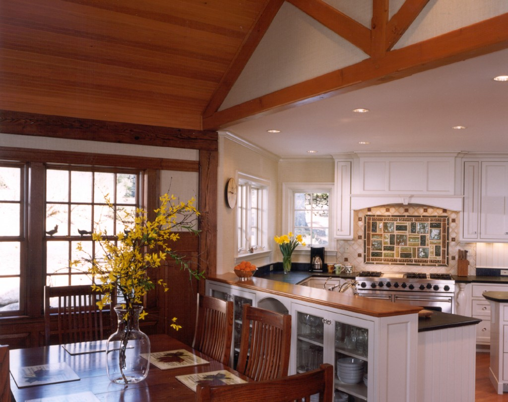 timber-frame-kitchen | Stirling Brown Architects, Inc.